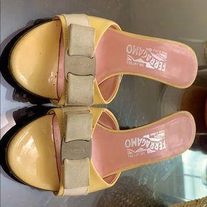 Salvatore Ferragamo 7 1/2 B Sandals